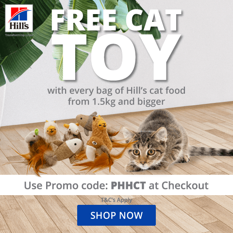 Hill's Cat Toy Promo - May 2021
