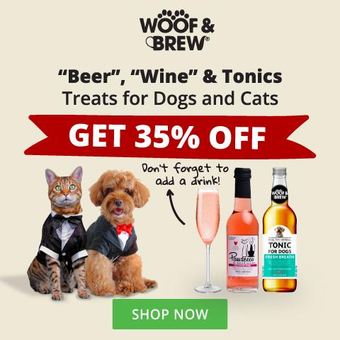 Woof & Brew April Promo