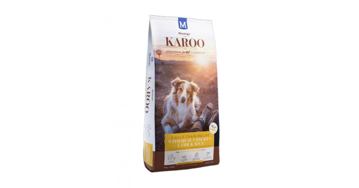 Montego Karoo Senior Dog Food