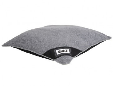 Rogz Lekka Flat Podz Dog Bed-Black/Grey