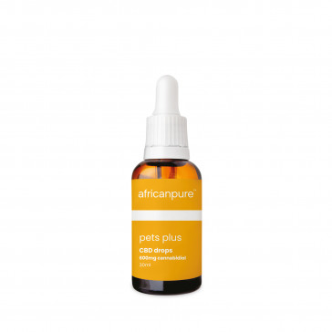 africanpure Large Pets CBD Oil Drops 600mg - 30ml
