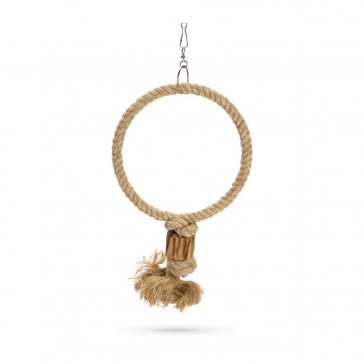 Beeztees Ringy Hanging Rope Bird Toy