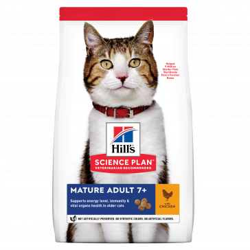 Hill's Science Plan Mature Chicken Adult 7+ Cat Food