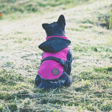 Dog's Life Relecta Windbreaker Dog Jacket - Pink
