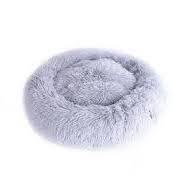 M-Pets Tahiti Soft Cushion Pet Bed - Light Grey
