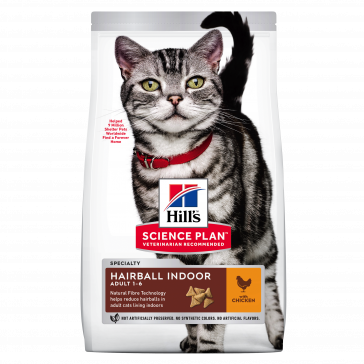 Hill's Science Plan Adult Hairball Indoor Chicken Cat Food