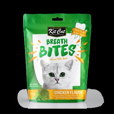 Kit Cat Breath Bites Chicken Cat Treats - 60g