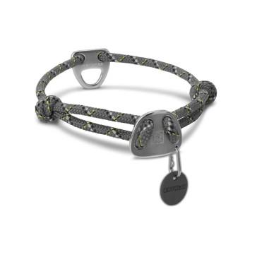 Ruffwear Knot-a-Collar Reflective Rope Dog Collar - Granite Gray