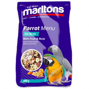 Marlton's Fruit & Nut Parrot Food Mix