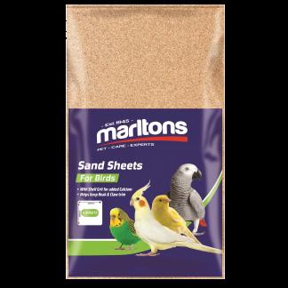 Marlton's Bird Cage Sand Sheet