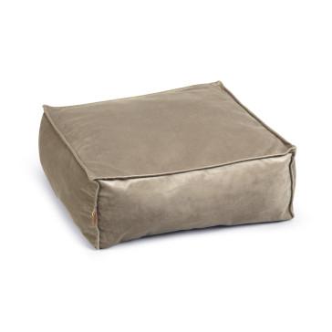 Designed By Lotte Velveti Velvet Cat Bed - Grey