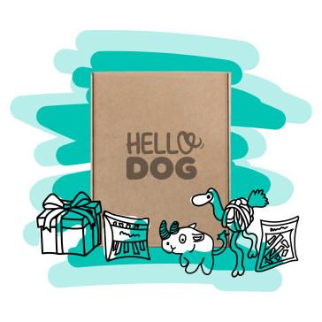 Hello Dog 6 Month Medium Dog Box - 10Kg to 20kg