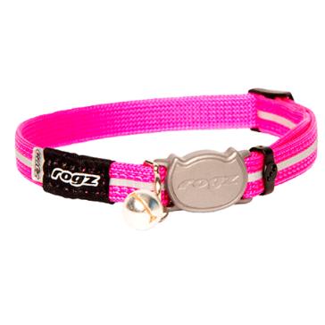Rogz Alleycat Breakaway Cat Collar-Pink