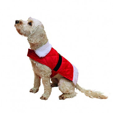 Rosewood Cupid & Comet Santa Dog Jacket