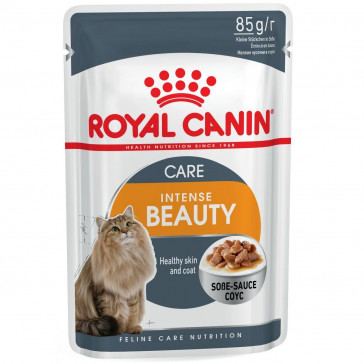 Royal Canin Wet Intense Beauty Cat Food Pouch
