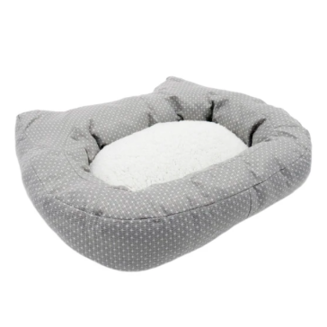Rosewood Dotty Feline Plush Cat Bed