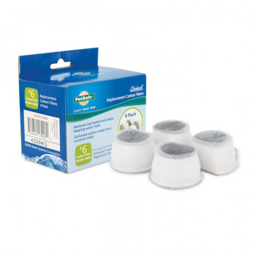 Drinkwell Replacement Carbon Filters - 4 pack