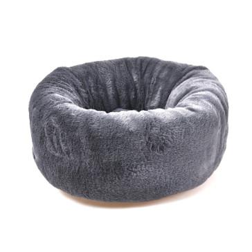 Dog's Life Calming Cuddler Pet Bed - Grey