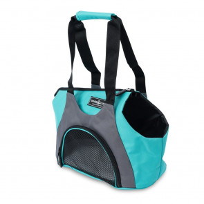 Dog's Life Carry-Me Pet Tote Carrier - Cyan