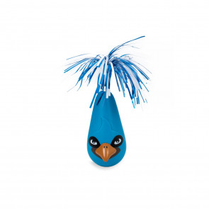 Cat's Life Shake It Off Crazy Bird Cat Toy - Blue