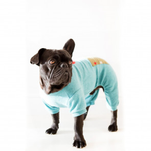 Dog's Life Pine Tree Dog Pyjamas - Blue