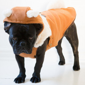Dog's Life Fox Hooded Dog Coat