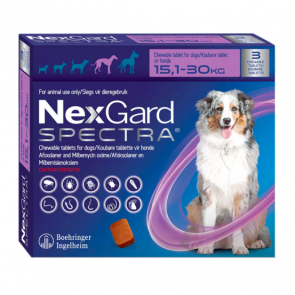 Nexgard Spectra Chewable Tablet - 15.1 - 30 kg