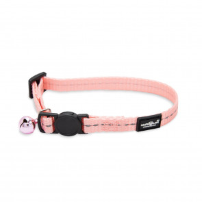 Cat's Life Supersoft Reflective Cat Collar - Pink