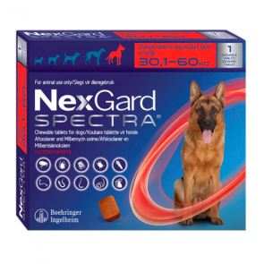 Nexgard Spectra Chewable Tablet - 30,1 - 60 kg