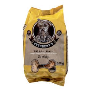 Cuthbert's BBQ Rib Dog Biscuits - 300g