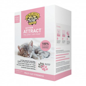 Dr. Elsey's Kitten Attract Clumping Clay Cat Litter - 9.07kg