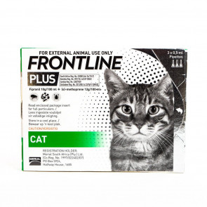 Frontline Plus Cat Tick & Flea Treatment