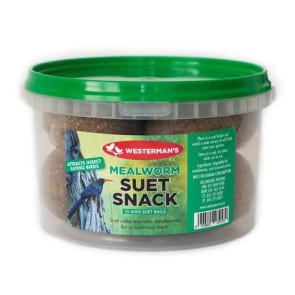 Westerman's Mealworm Suet Snack Tub