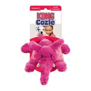 Kong Cozie Elmer the Elephant Dog Toy