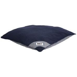 Rogz Lekka Flat Podz Dog Bed-Grey/Navy