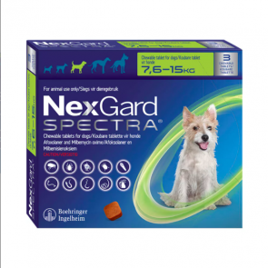 Nexgard Spectra Chewable Tablet - 7.6 - 15 kg