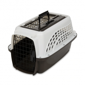 Petmate Two Door Top Load X-Small Pet Kennel - White