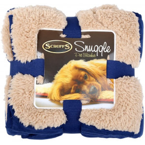 Scruffs Cosy Snuggle Pet Blanket - Blue