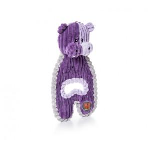 K-9 Tuff Cuddle Hugs Hippo Plush Dog Toy