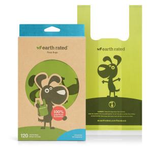 Earth Rated Easy Tie Handle Poop Bags - 120