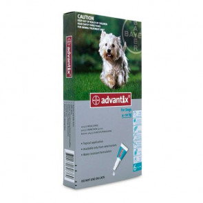 Advantix Medium Dog 4-10kg Tick & Flea Treatment