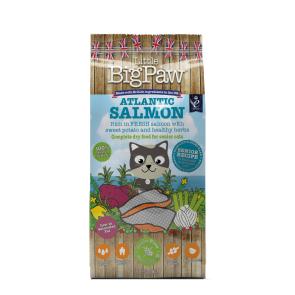 Little Big Paw Atlantic Salmon Complete Senior Cat Food
