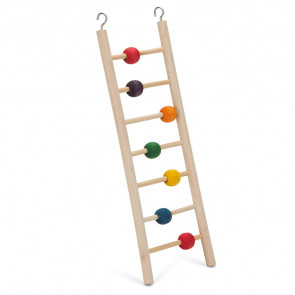 Beeztees Wooden 7-Step Ladder with Balls
