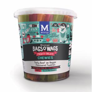 Montego Bags O Wags Beef & Veggie Chewies Dog Treats