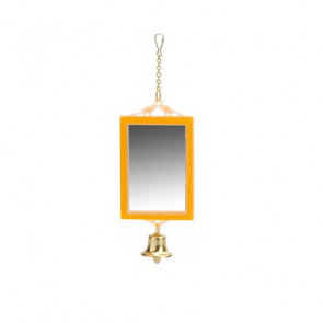 Beeztees Mirror & Bell Bird Toy