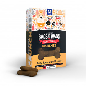 Montego Bags O Wags Boerewors Crunchies Dog Biscuits