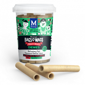 Montego Bags O Wags Mint Flavoured Dental Tubes Puppy Chewies