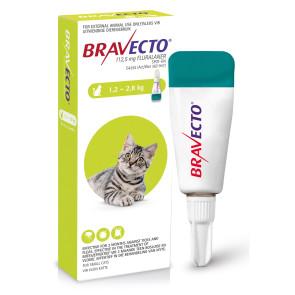 Bravecto Small Cat 1.2-2.8kg Spot On Tick & Flea