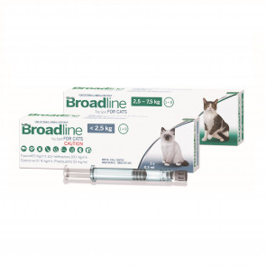 Broadline Broad-Spectrum Protection Solution For Cats