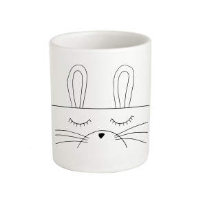 Sugar & Vice Handmade Ceramic Bunny Storage Jar